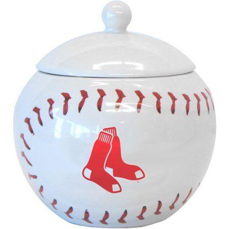 12oz MLB Boston Red Sox Game Time Jar, Multicolor