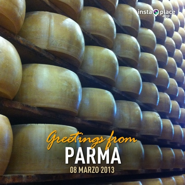 Parmigiano cheese cathedral...