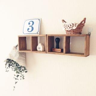 tumn's room photo about Bedroom,セリア,賃貸,ナチュラルキッチン,みかづきももこ,ナンバープレ-ト,粘土のお家,ユーカリ ドライ, - RoomClip