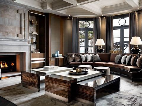 Sophisticated living rooms