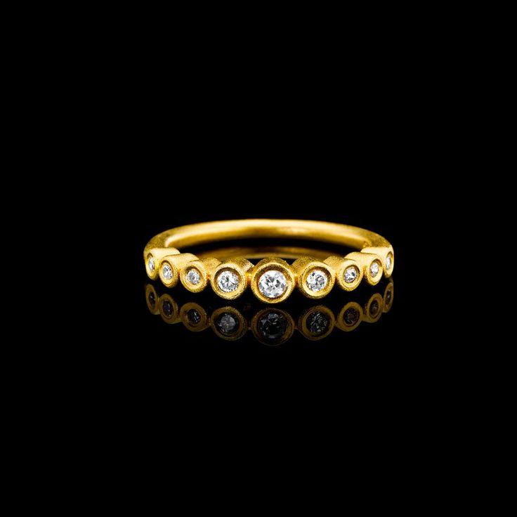 Buy Goldplated ring Sterling Silver Julie sandlau - Julie Sandlau Webshop