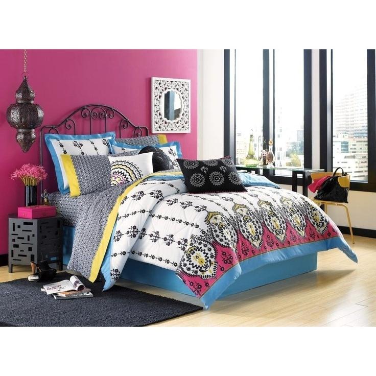 like colors, cute bedspread