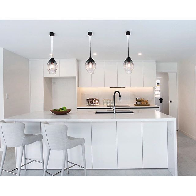 Our Grey Medium Volt Pendant Lights Recently Installed In This