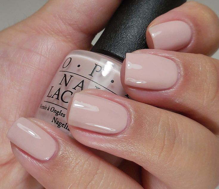 OPI: ☆ Put It In Neutral ☆ ... a neutral,  office appropriate nail polish from the OPI Soft Shades Collection 2015