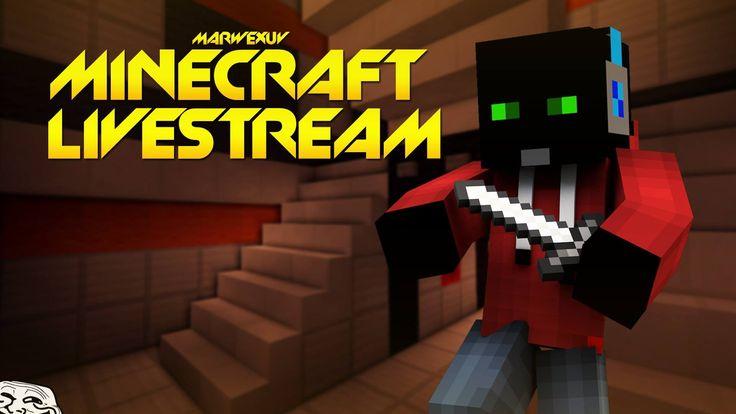 Slavíme 100 000! :3( + Samozřejmě Minecrafty :D) | LiveStream[MarweX&Fal...
