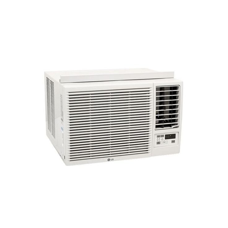LG LW1216HR 12000 BTU 220V Window Air Conditioner with 11200 BTU Electric Heater White Air Conditioners Window Cooler And Heater
