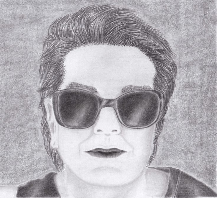 Pencil drawing my mothers portrait :)