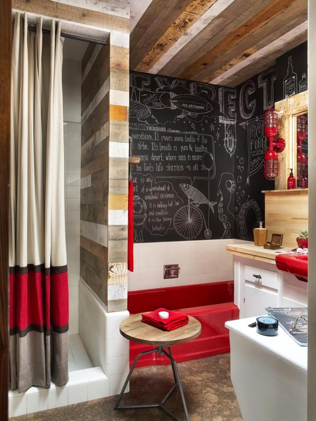 Photo Gallery For Website Powder Room Design Pictures Remodel Decor and Ideas page Red BathroomsMaster