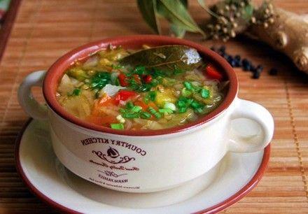 Из чего готовиться суп рататуй