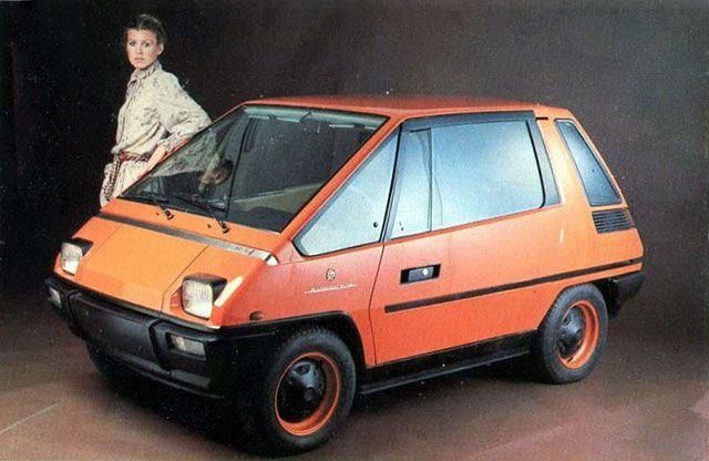 Fiat City Car 1976 by Michelotti