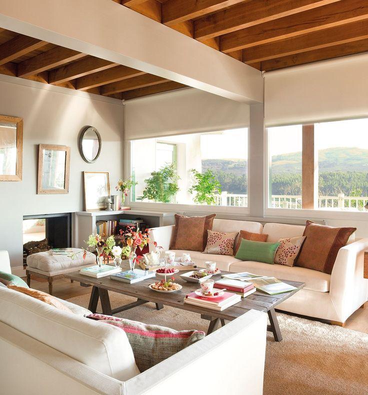 Elegir las telas perfectas para el salón · ElMueble.com · Escuela deco