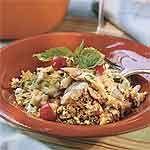 Mediterranean Chicken Couscous Recipe   MyRecipes.com