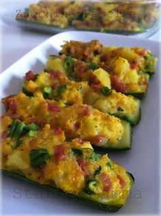 Zucchine farcite ricetta cucinare foto cucina statusmamma blog tutorial verdure secondo antipasto