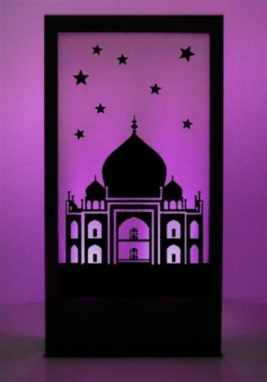 Indian Silhouette Panels
