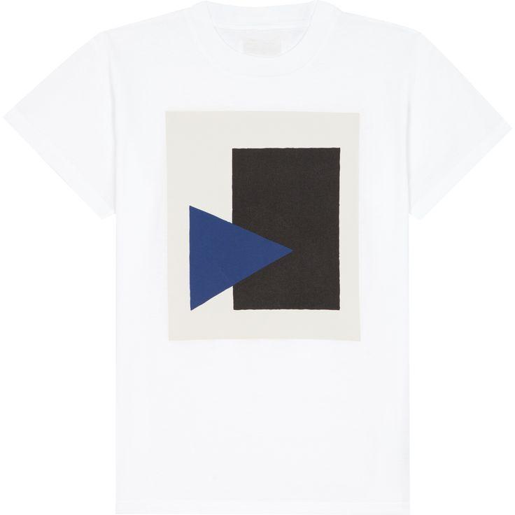 T-shirt Malevich blanc