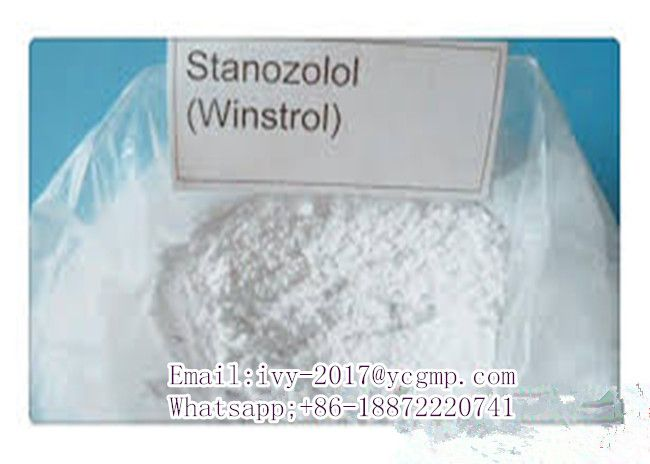 Stanozolol  CAS 10418-03-8  Stanozolol Alias: Winstrol,Stanol,Qikanggubao,stanazolol,Stromba,Zambon CAS Registry Number:10418-03-8 EINECS: 233-894-8 Assay: 99% Drug Class: Injectable steroid,oral steroid, bodybuilding steroid, Molecular Formula:C21H32N2O Molecular Weight:328.49 Appearance: White or almost white crystalline powder, odorless.  Stanozolol  CAS 10418-03-8  Stanozolol Alias: Winstrol,Stanol,Qikanggubao,stanazolol,Stromba,Zambon CAS Registry Number:10418-03-8 EINECS: 233-894-8…