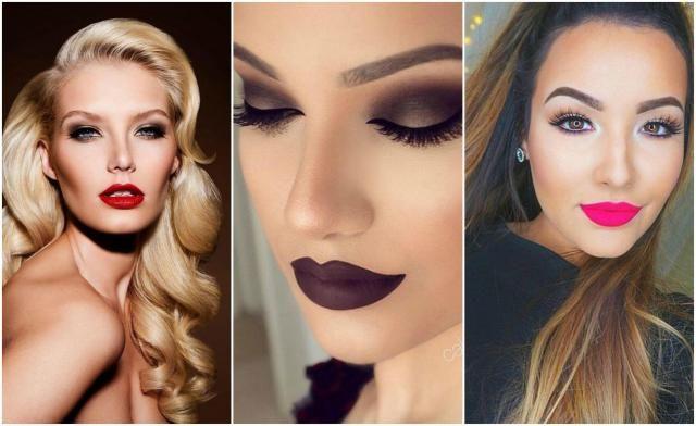 Makijażowe trendy: 12 pomysłów na genialny makijaż. Zima 2016/2017 #makijaż# makeup #kobieta #trendy