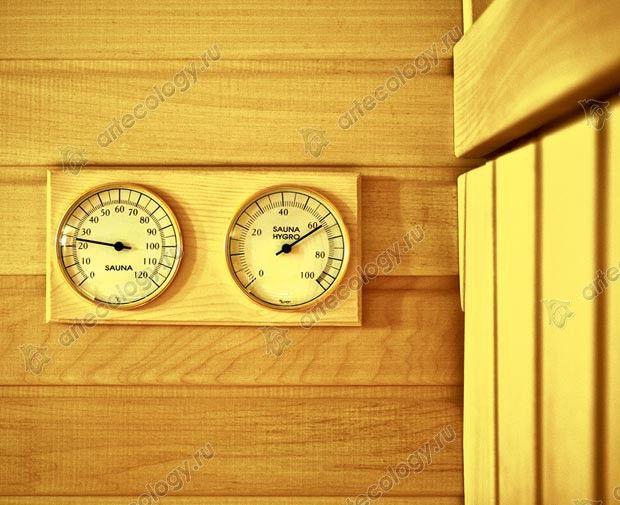 Оптимальное соотношение температуры и влажности сауны - The optimum temperature and humidity value saunas