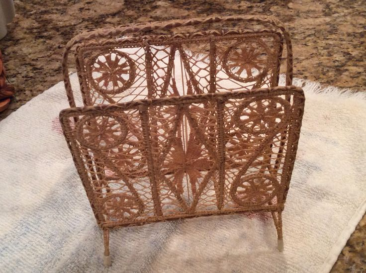 Arts And Crafts Style Napkin Holder