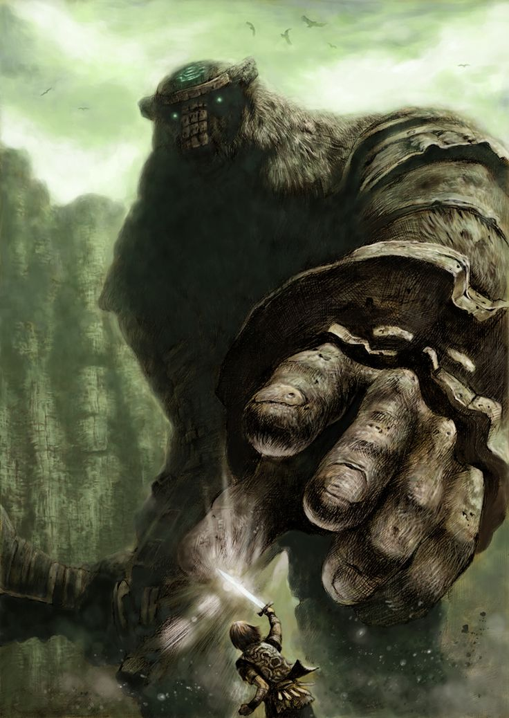Shadow of the Colossus - what a great game.
