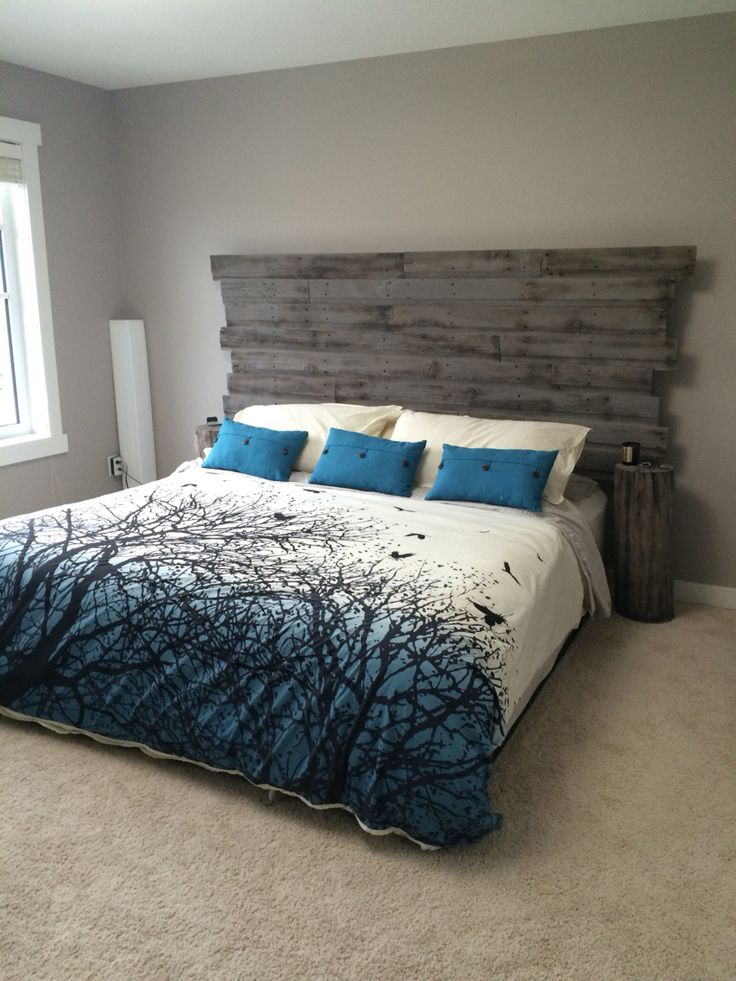 1000 Ideas About Barn Wood Headboard On Pinterest