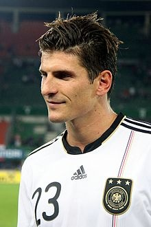 Mario Gomez (GERMANY)  Gómez is of German-Spanish descent (his father, Pepe Gómez, is Spanish from Albuñán, Granada and his mother, Christel Roth, is German). He has both German and Spanish citizenship and decided to play for the German national team.