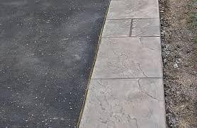 Image result for asphalt driveway with interlock border