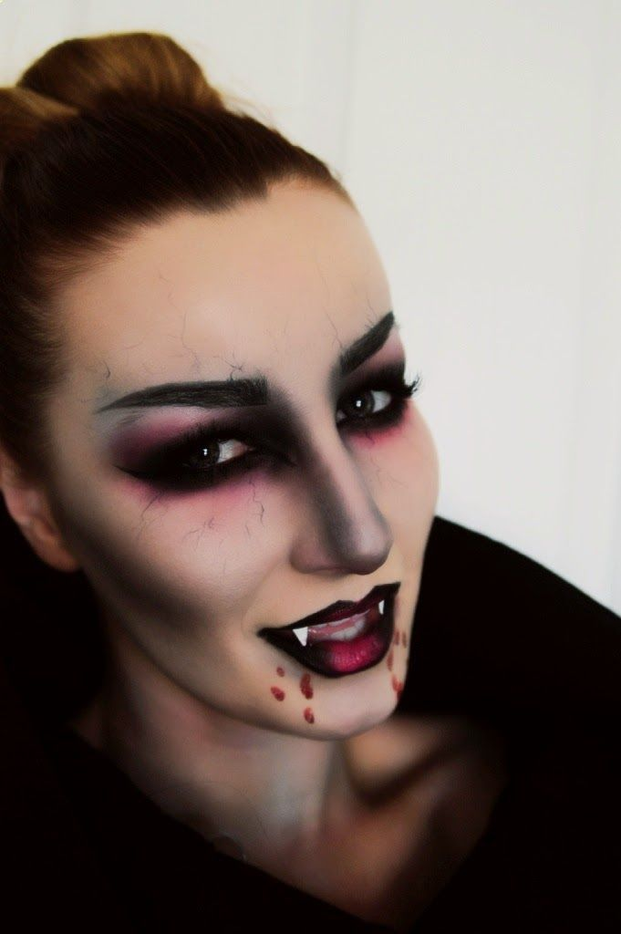 Another lovely vampire makeup look.