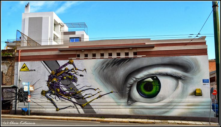 Travel in Clicks: Street Art in Athens