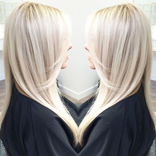 platinum blonde with lowlights - Google Search
