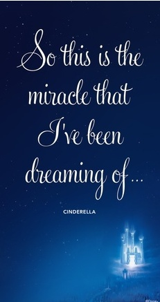 So this is the miracle I've been dreaming of ~ Cinderella Disney's Glass Slipper Challenge