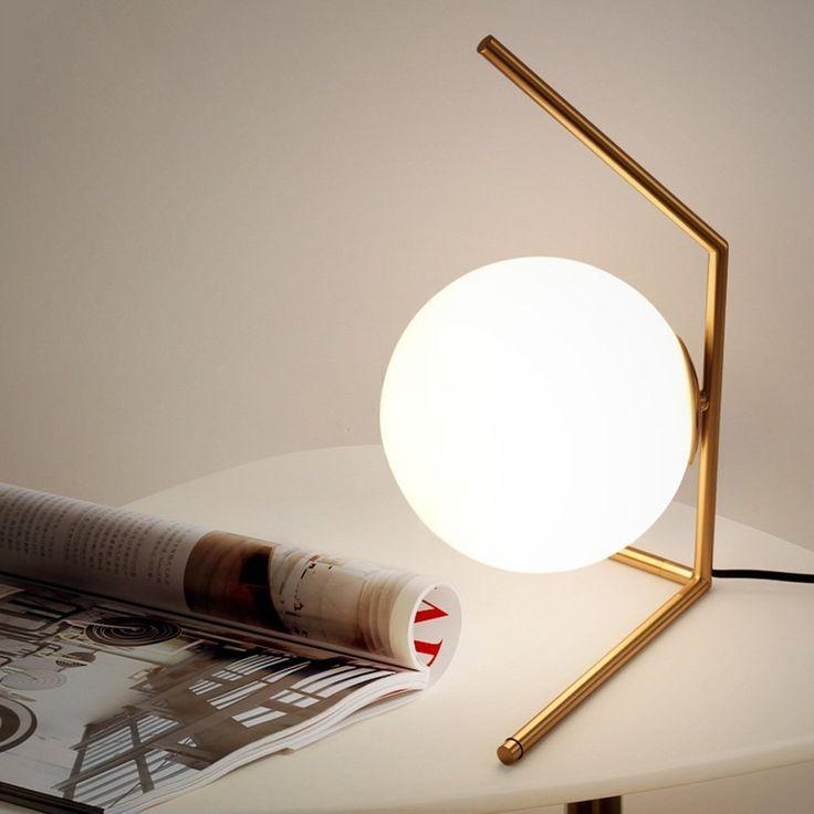 Einfache Moderne Post - Moderne Kunst Kreative Glas Tischlampe Schlafzimmer Bedside Wohnzimmer Esszimmer Tischlampe [Effizienzklasse : A +] ( farbe : A ): Amazon.de: Küche & Haushalt
