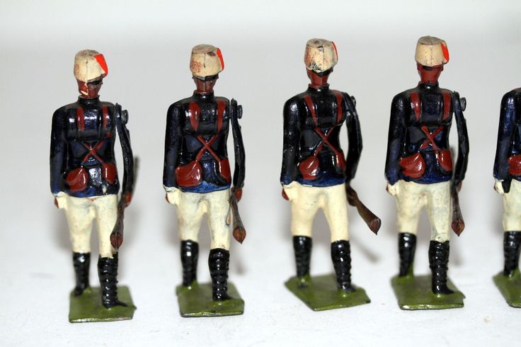 RARE Britains Toy Lead Soldier Set 116 Soudanese Infantry | eBay
