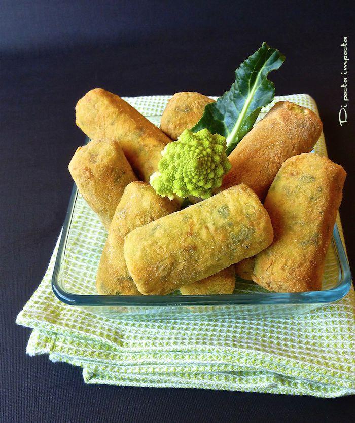 Di pasta impasta: Crocchette di broccolo romano
