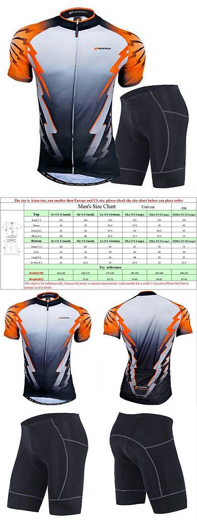 Jersey and Pant Short Sets 177852: Men S Cycling Jerseys Bike Padded Shorts Quick Dry Biking Wear Clothing Kits -> BUY IT NOW ONLY: $32.29 on eBay!