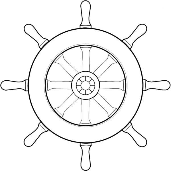 Disegno Di Timone Della Nave Da Colorare Desenler