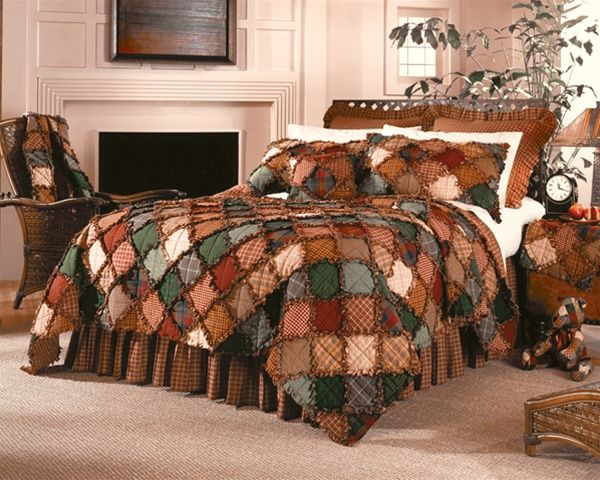 Downloads Free Rag Quilt Pattern | Campfire Quilt by Donna Sharp Quilts | Donna Sharp Quilts ...