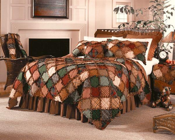 Downloads Free Rag Quilt Pattern | Campfire Quilt by Donna Sharp Quilts | Donna Sharp Quilts ...