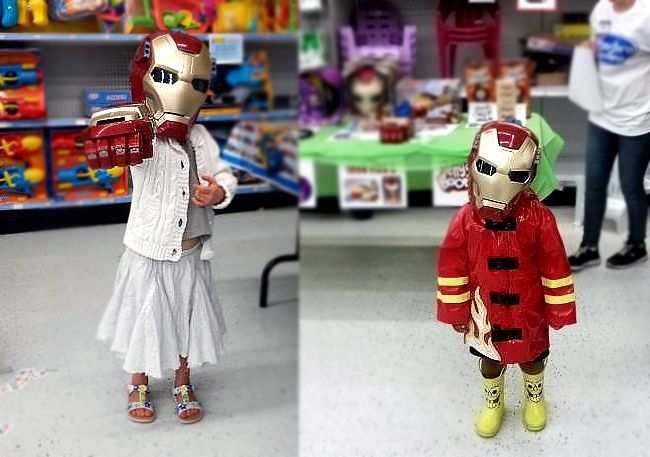 """Tomorrow (Saturday 22nd) from 11am-1pm it's our PLAY DAY at Toys""""R""""Us stores! Come dressed up as your favourite Superhero and receive a personalized SECRET IDENTITY CARD + exciting games, crafts & activities! Details: www.toysrus.ca/playday!"""
