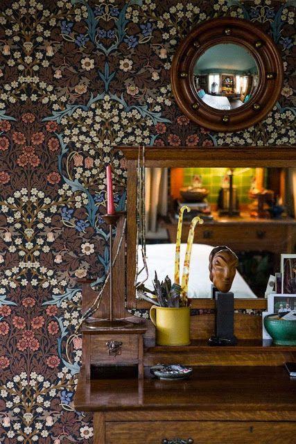 La modernidad de los papeles pintados de William Morris | Etxekodeco
