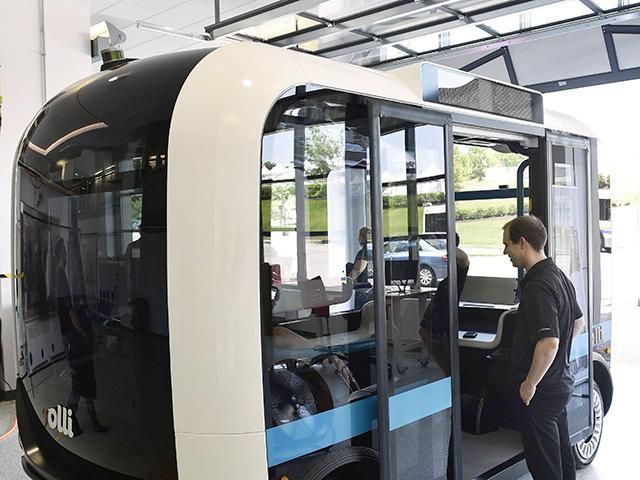Slideshow : 5 interesting things about Olli, an electric self-driving shuttle - 5 interesting things about Olli, an electric self-driving shuttle - The Economic Times