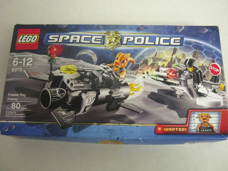 LEGO Space Police Freeze Ray Frenzy (5970) NEW #LEGO
