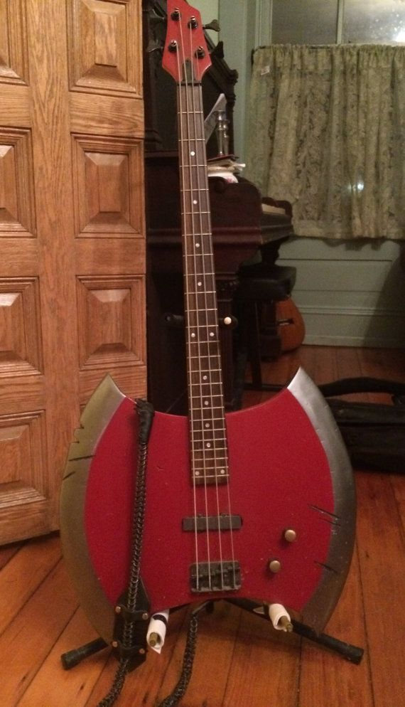 Adventure Time Marceline's Axe Bass Working Playable by Avelgaard, $850.00