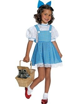 Kids Dorothy Deluxe Costume | Cheap Dorothy Halloween Costume for Girls Costumes