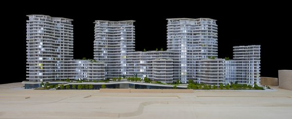 #architecture #maquette #rotterdam #modelmaking #MBM #robbrechtendaem