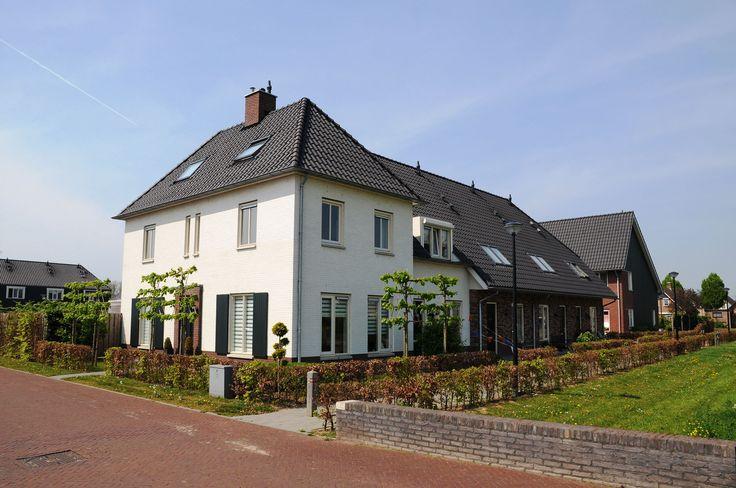 Woonwijk de Woerden in Herveld, inrichting openbare ruimte en beplanting