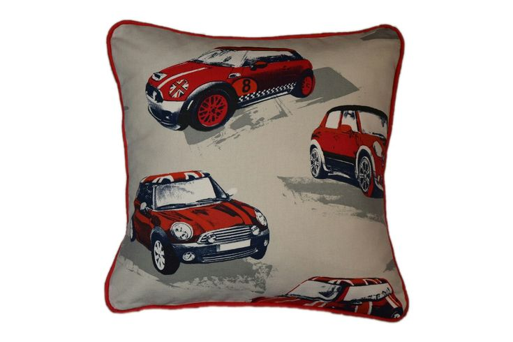 "Excited to share the latest addition to my #etsy shop: Kids Pillows, 16x16"" Decorative Pillow Cases, Baby Pillows, Pillow Piping, Car Pillows for Kids, London Pillow, Gift for Boys, Gift for Kids #housewares #pillow #cotton #nursery #birthday http://etsy.me/2CuyqmV"