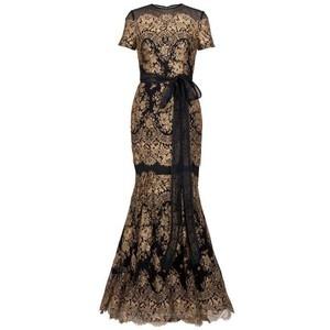 Carolina Herrera - gold lace