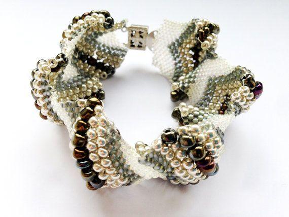 Parel / Kralen Armband - Wit, zilver, bruin, ivoor ...