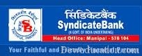 Syndicate Bank Has asked for the applications for the Syndicate Bank Specialist Officer Recruitment 2012 ..  The Pay Scale For This Job Is 15600-39100/- Grade Pay Rs. 6600/-. Last Date Applying For The Syndicate Bank Specialist Officer Recruitment 2012 Is 30 September 2012..